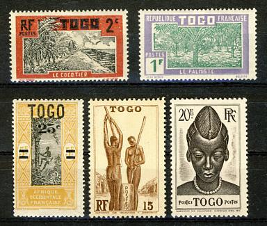 Briefmarken Togo