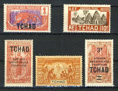 Briefmarken Tschad