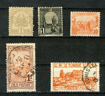 Briefmarken Tunesien
