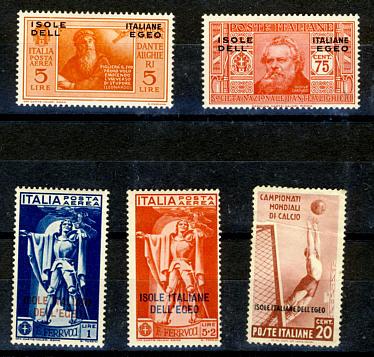 Briefmarken Ägäische Inseln