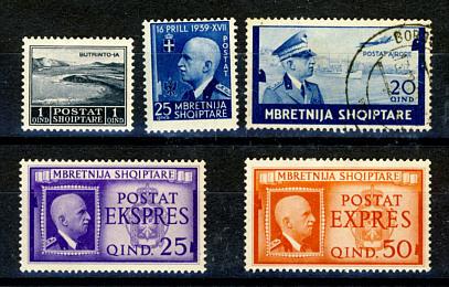 Briefmarken Albanien