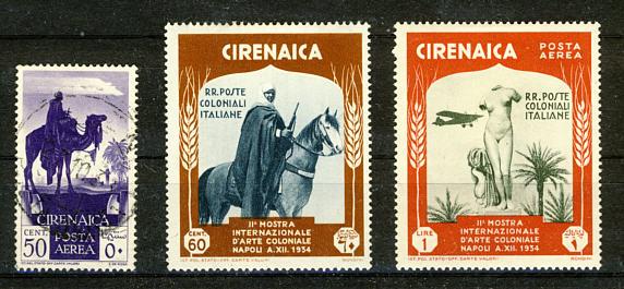 Briefmarken Cyrenaika