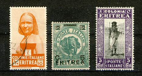 Briefmarken Eritrea