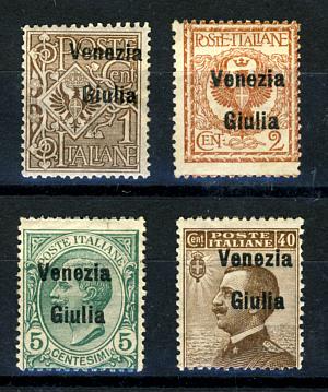 Briefmarken Istrien
