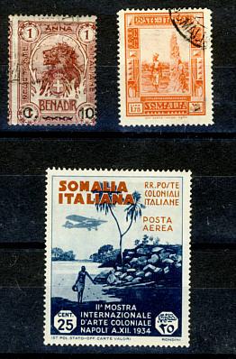 Briefmarken Somalia
