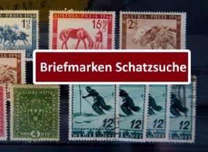 Interessante Briefmarken von Österreich