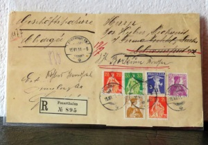 Interessanter R-Brief aus der Schweiz