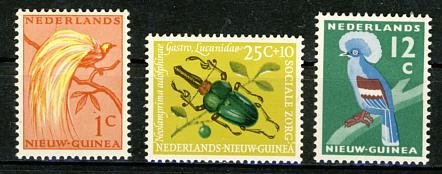 Briefmarken Niederländisch Neuguinea