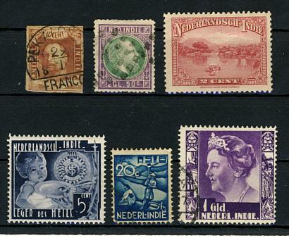 Briefmarken Niederländisch Indien