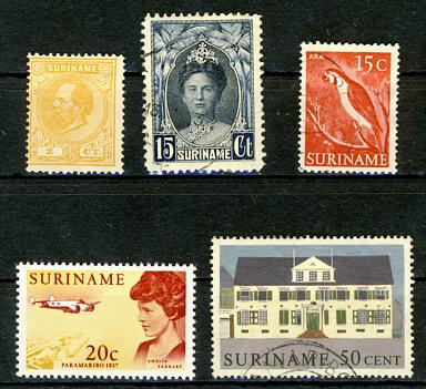 Briefmarken Surinam