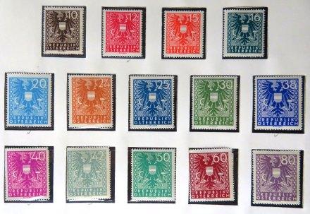 E Post Briefmarken
