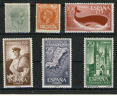Briefmarken Fernando Poo
