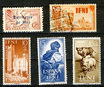 Briefmarken Ifni