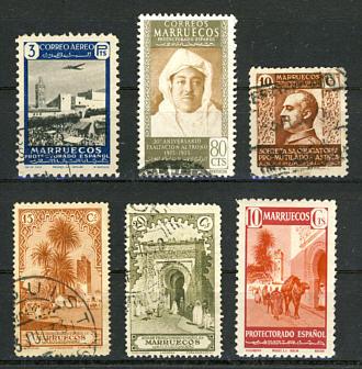Briefmarken Spanisch-Marokko
