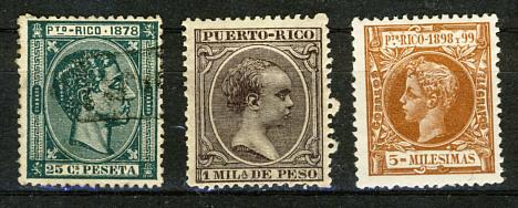 Briefmarken Puerto Rico