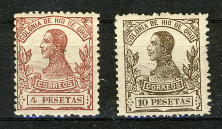 Briefmarken Rio de Oro