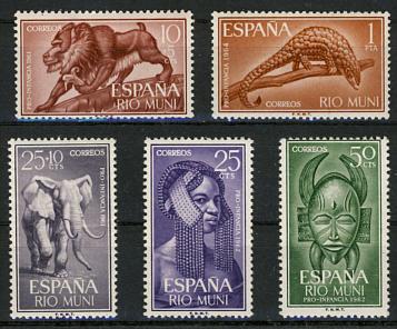 Briefmarken Rio Muni