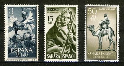 Briefmarken Spanisch-Sahara