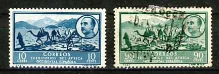 Briefmarken Spanisch-Westafrika