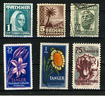 Briefmarken Tanger