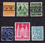 Bizone Briefmarken