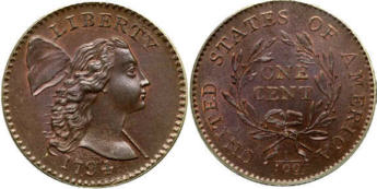 Values of Liberty Cap Pennies 1793 - 1796