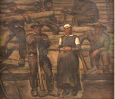 Bei Sothebys: Albin Egger-Lienz, Die Lebensalter, Öl auf Leinwand, signiert, Schätzpreis: £300,000-400,000