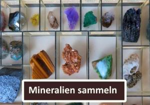 Mineralien-Sammlung