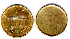 Fehlprägungen Abarten Und Varianten Der Euro Münzen Brd Cent Münzen