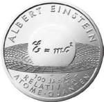 BRD 10 Euro - Gedenkmünze Albert Einstein