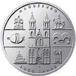 BRD 10 Euro - Gedenkmünze 1200 Jahre Magdeburg