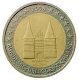 BRD 2 Euro - Sonderprägung 2006 - Holstentor