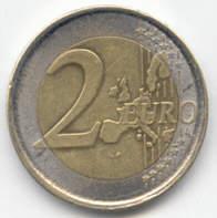 zwei euro stück sondern münze belgien