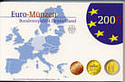 EURO-Kursmünzensatz der BRD 2006