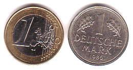 Deutsche Mark In Euro