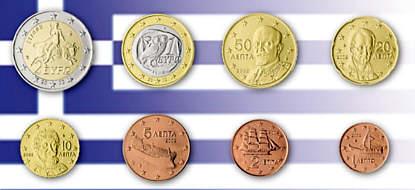 Auflagen Und Bewertung Der Euro Kursmünzensätze Griechenlands
