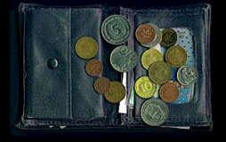 Schatzsuche Im Geldbeutel