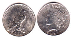 US Peace Dollar