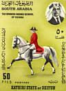 Pferde - Briefmarke