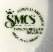 Porzellan von SMCS Porzellanfabrik GmbH Tirschenreuth