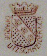 Porzellan von Utzschneider & Co.