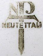 Porzellan von Neue Porzellanfabrik Tettau / Neue Porzellanfabrik Tettau AG / Porzellanfabrik Gerold & Co.