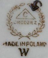 Porzellan von Fabryka Porcelany i Wyrobow Ceramicznych w Cmielowie
