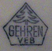 Porzellan von VEB Thüringer Porzellanwerke Gehren