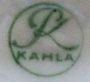 Porzellan von Porzellanfabrik Kahla