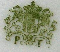 Porzellan von Königlich privilegierte Porzellanfabrik Tettau