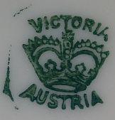 Porzellan von Porzellanfabrik Victoria AG