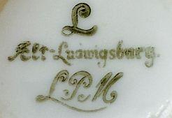 Porzellan von Porzellan-Manufaktur Alt Ludwingsburg GmbH