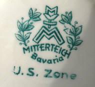 Porzellan von Porzellanfabrik Mitterteich