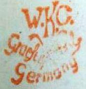 Porzellan von Weiss, Kühnert & Co.